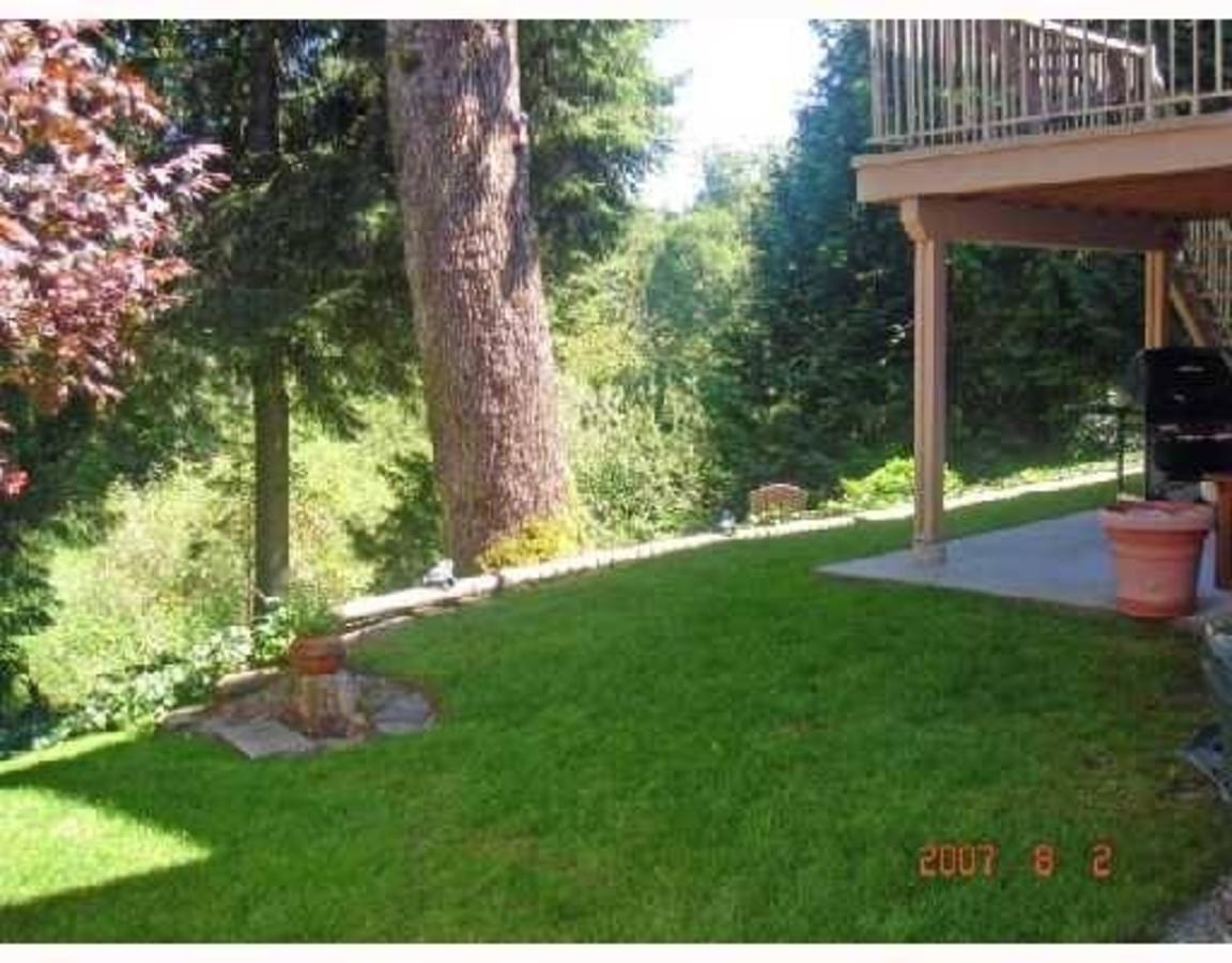 Backyard at 12446 205th Street, Maple Ridge