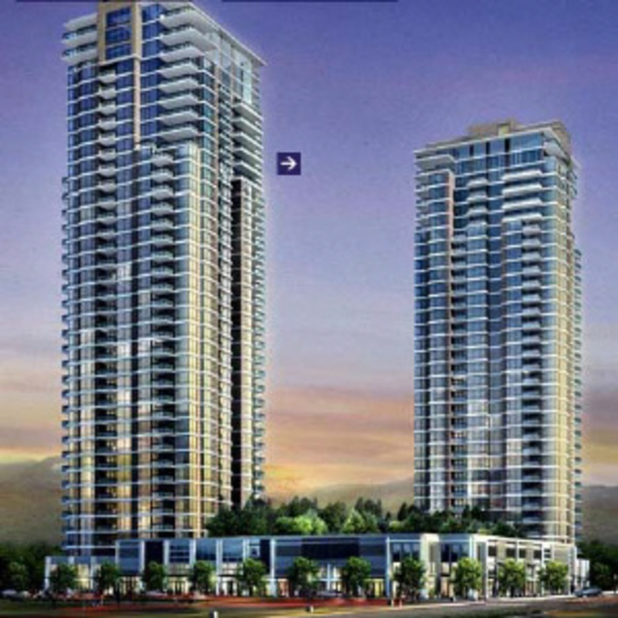 Front at 1002 - 3030 Northern Avenue, Coquitlam Center, Coquitlam