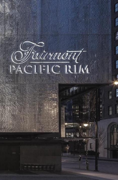 Hossein Pejman's Achievements at the Fairmont Pacific Rim.