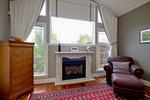 436 Master fireplace at 436 Rahul Crescent, Moffat Farm, Ottawa