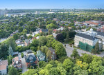 730-echo-drone-above-with-south-view at 730 Echo Drive, Old Ottawa South, Ottawa