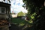 Yard at 1333 Avenue Q, Eastway Gardens, Ottawa