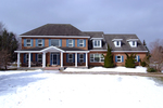 Exterior Front at 5570 Pettapiece Crescent, Manotick Estates, Manotick