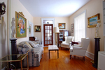 Living Room at 108 Crichton Street, New Edinburgh, Ottawa