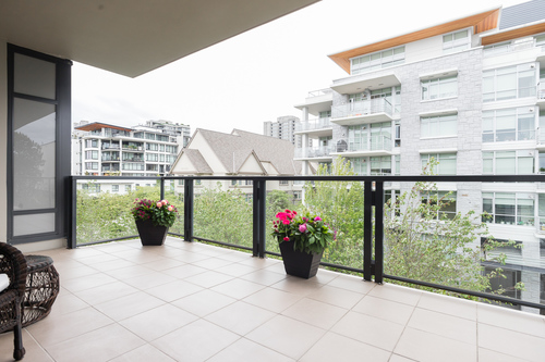 iona-balcony3 at 506 - 6063 Iona Drive, University VW, Vancouver West