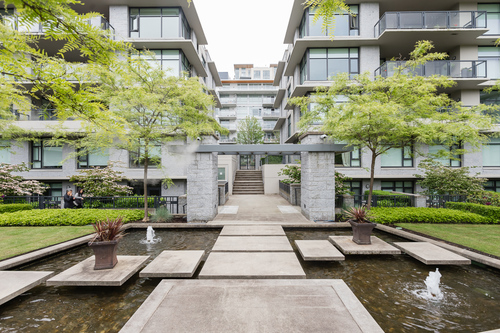iona-courtyward at 506 - 6063 Iona Drive, University VW, Vancouver West