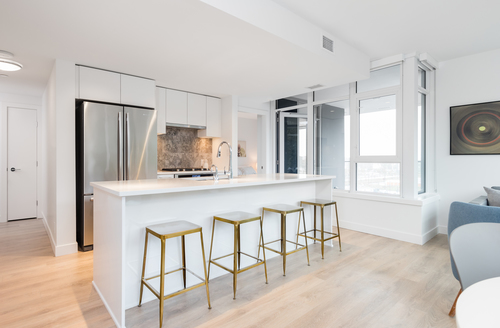 810kitchen at 810 - 8538 River District Crossing, Collingwood VE, Vancouver East