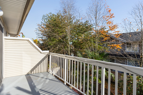 colleen-balcony at 40 - 8778 159 Street, Fleetwood Tynehead, Surrey