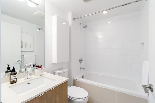 b100-bath at 503 - 111 E 1st Street, Mount Pleasant VE, Vancouver East