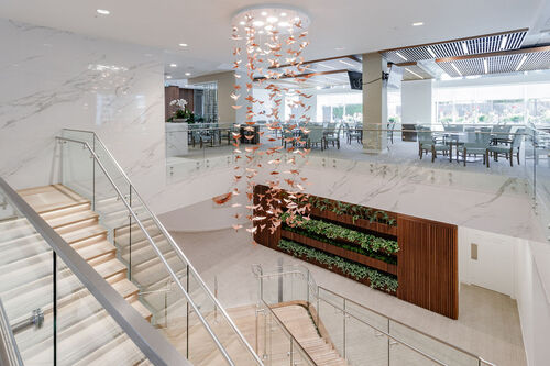 opal-staircase at 371 - 438 West King Edward, Cambie, Vancouver West