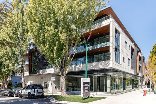h17-exterior at 402 - 717 West 17th Street, Cambie, Vancouver West