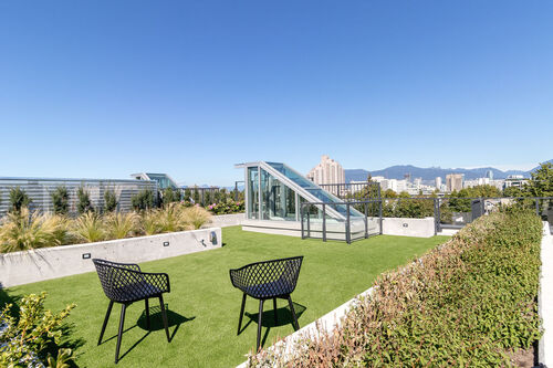 h17-roof-3 at 402 - 717 West 17th Street, Cambie, Vancouver West
