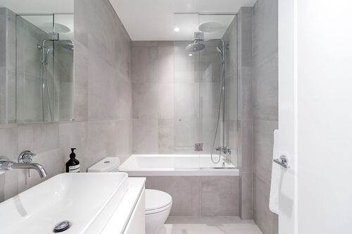 h17bathmaster at 402 - 717 West 17th Street, Cambie, Vancouver West