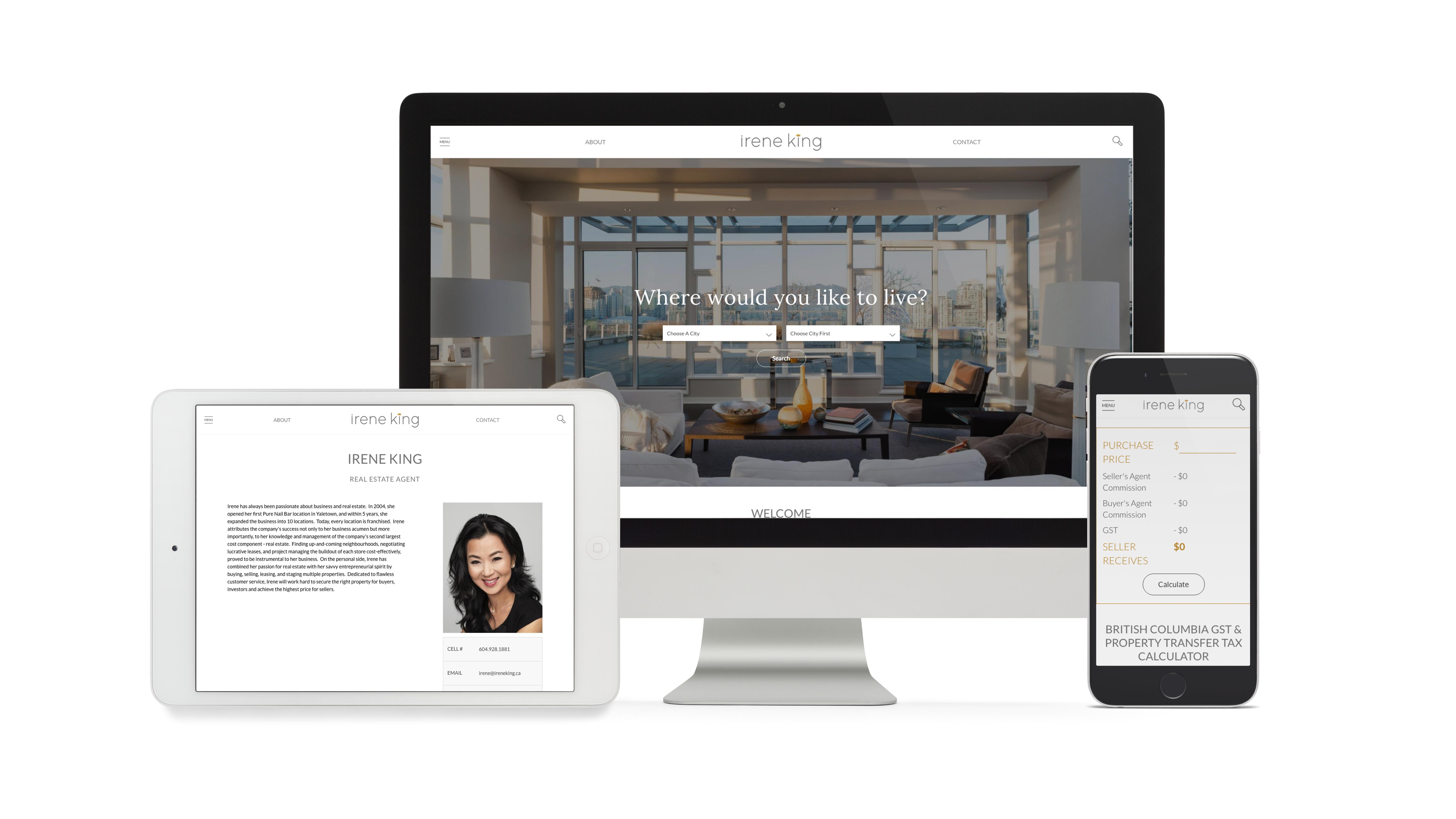 Mobile-Responsive Web Presence + Social Media