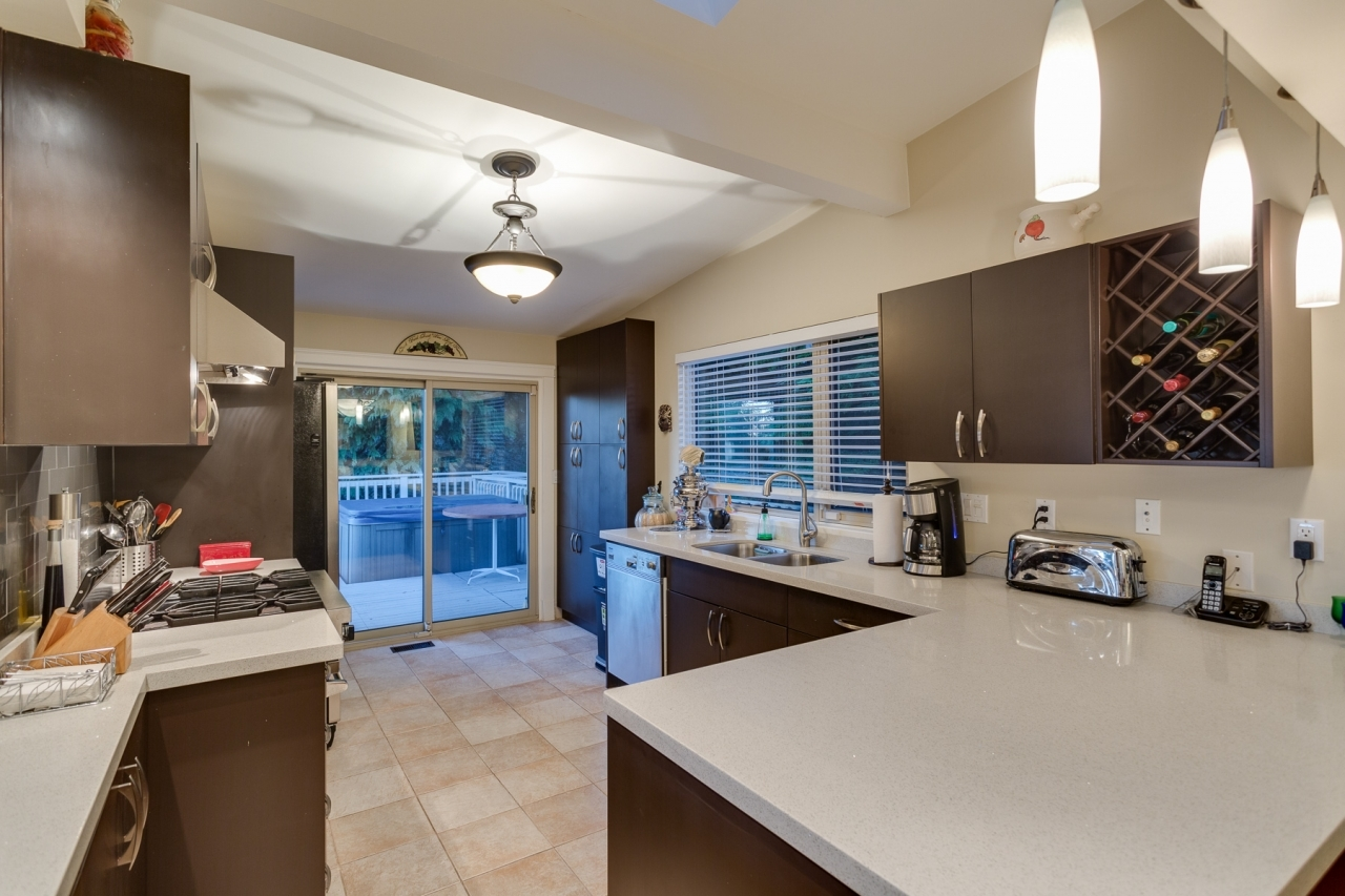 Kitchen 1 at 4741 Rutland Road, Caulfeild, West Vancouver