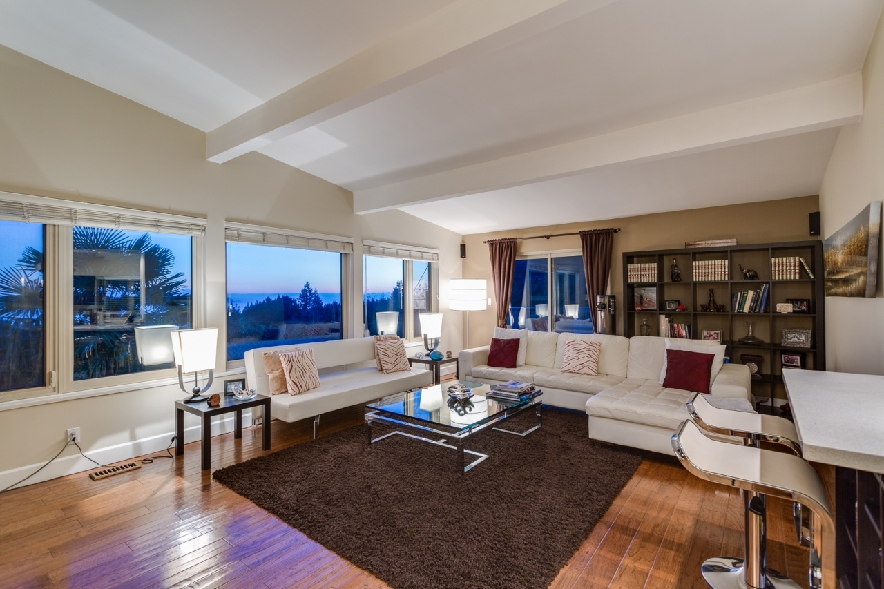 Living Room 1 at 4741 Rutland Road, Caulfeild, West Vancouver