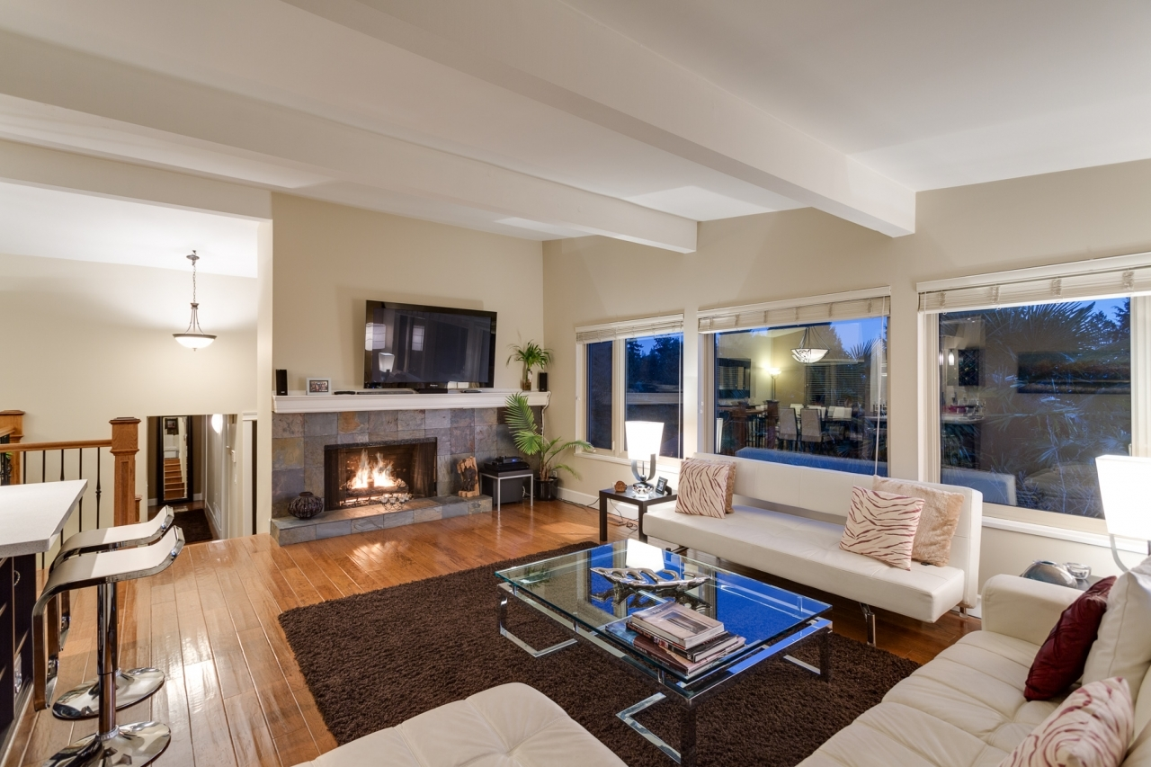 Living room 2  at 4741 Rutland Road, Caulfeild, West Vancouver