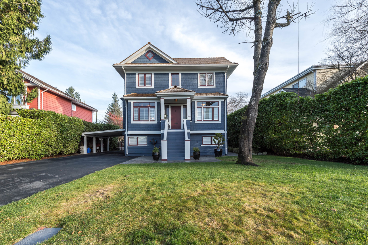 1816 Mahon Ave Front View at 1816 Mahon Avenue, Central Lonsdale, North Vancouver
