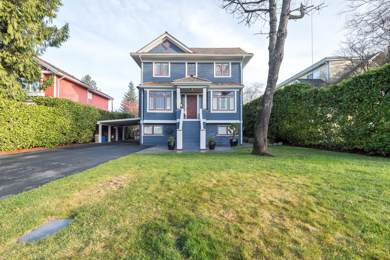 1816 Mahon ave front straight at 1816 Mahon Avenue, Central Lonsdale, North Vancouver