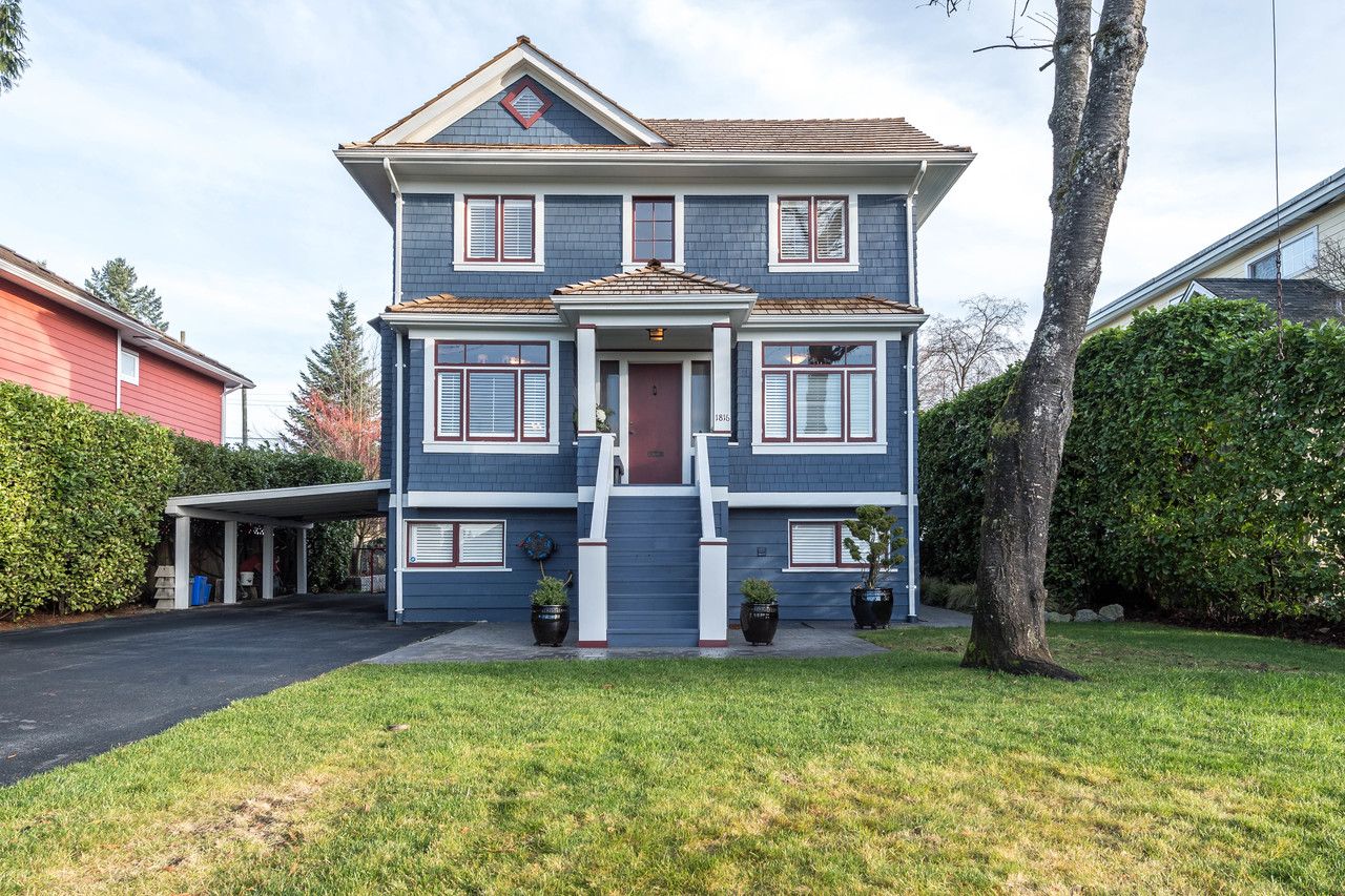 1816 Mahon ave Front close at 1816 Mahon Avenue, Central Lonsdale, North Vancouver