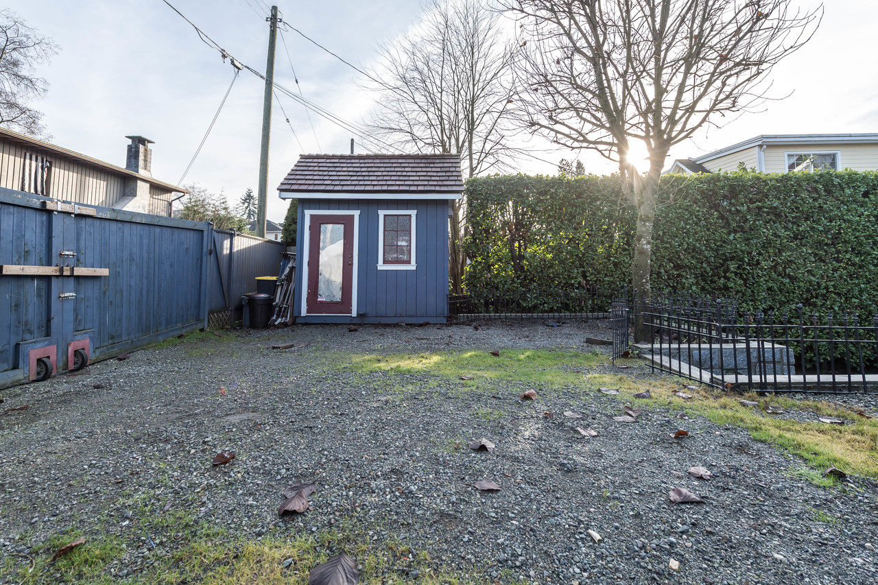 1816 Mahon Ave Shed at 1816 Mahon Avenue, Central Lonsdale, North Vancouver
