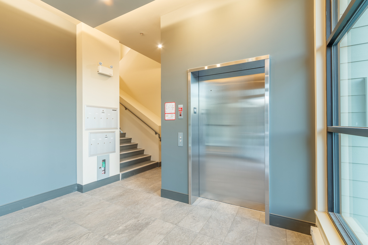 building-b-lobby at 5160 Dublin Way, Nanaimo