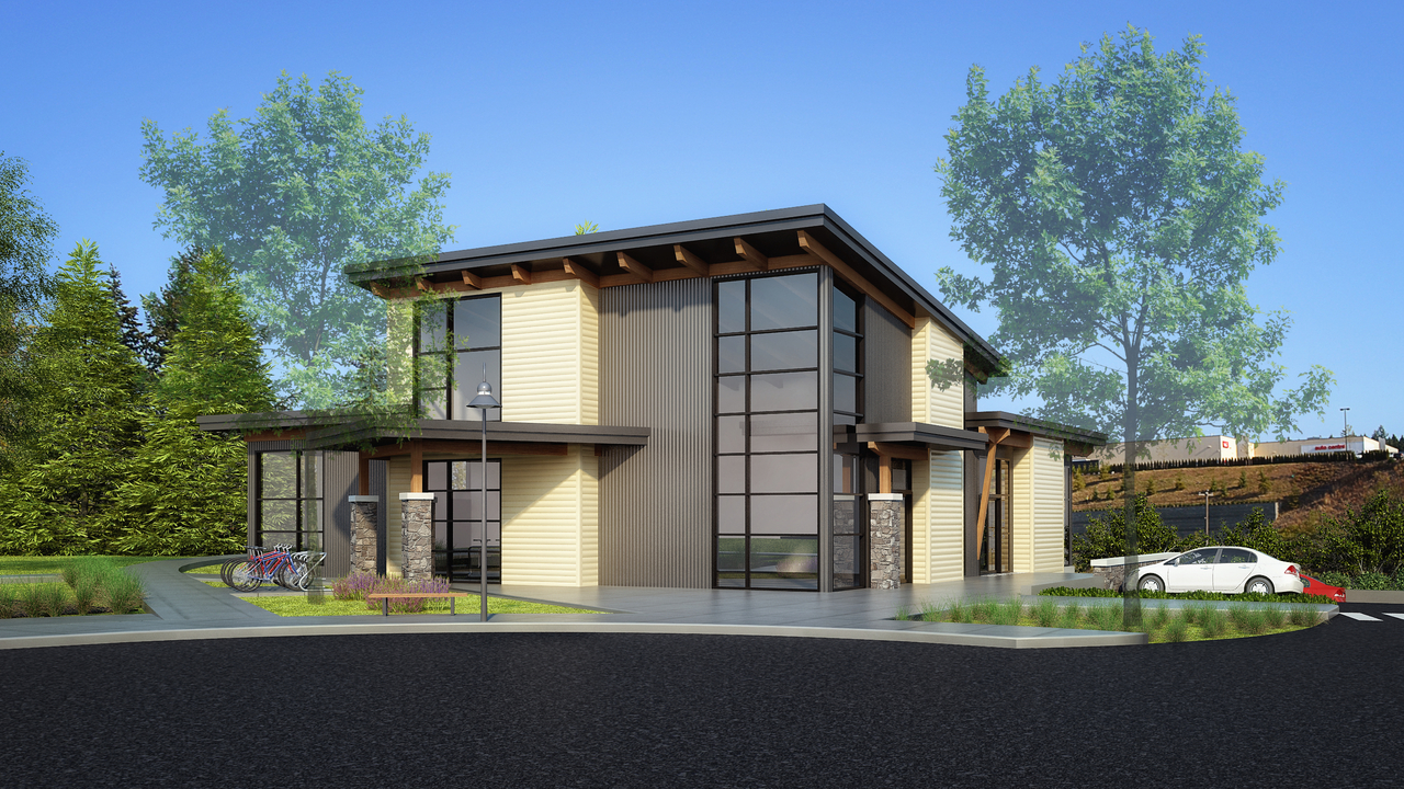Building-A-only at CRU1 - 5200 Dublin Way, Nanaimo