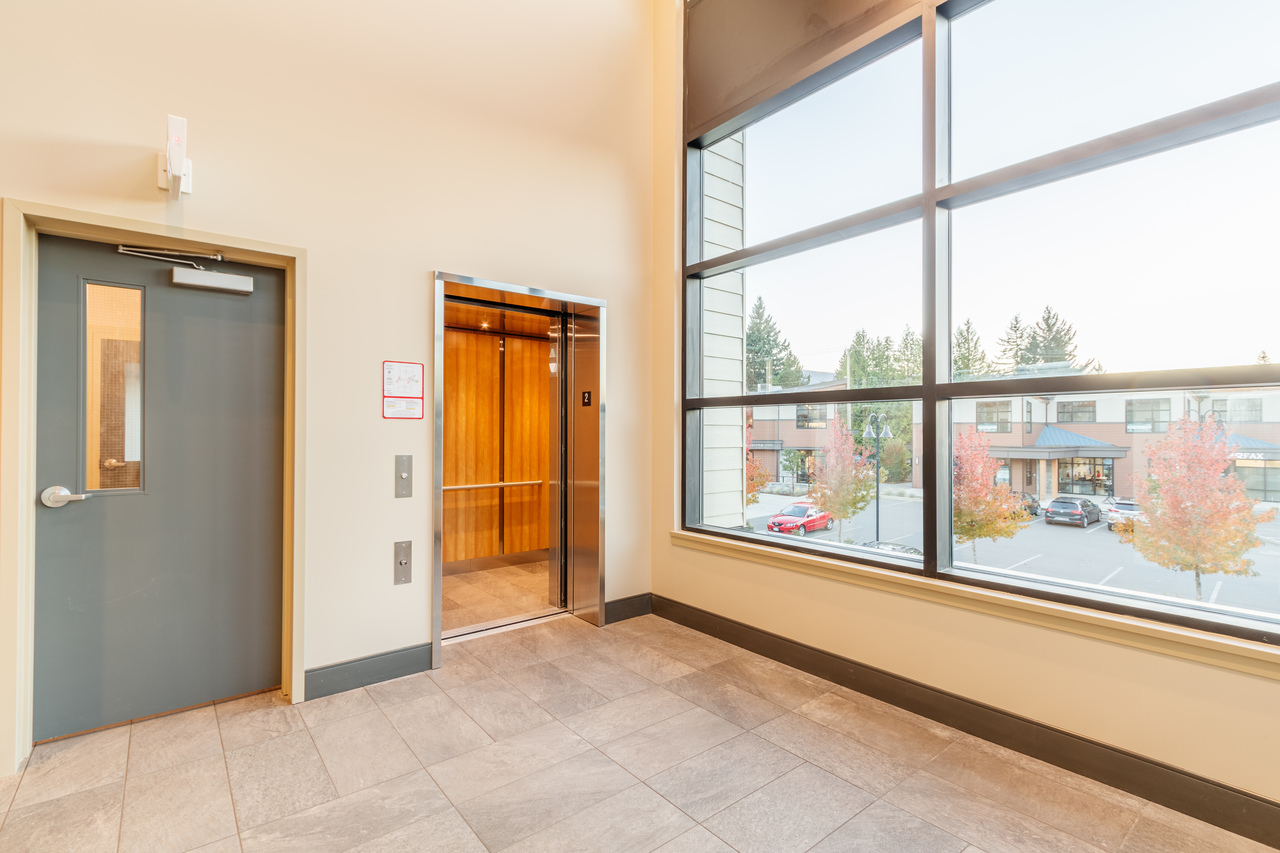 building-b-level-2-entrance2 at 201 - 5160 Dublin Way, Nanaimo
