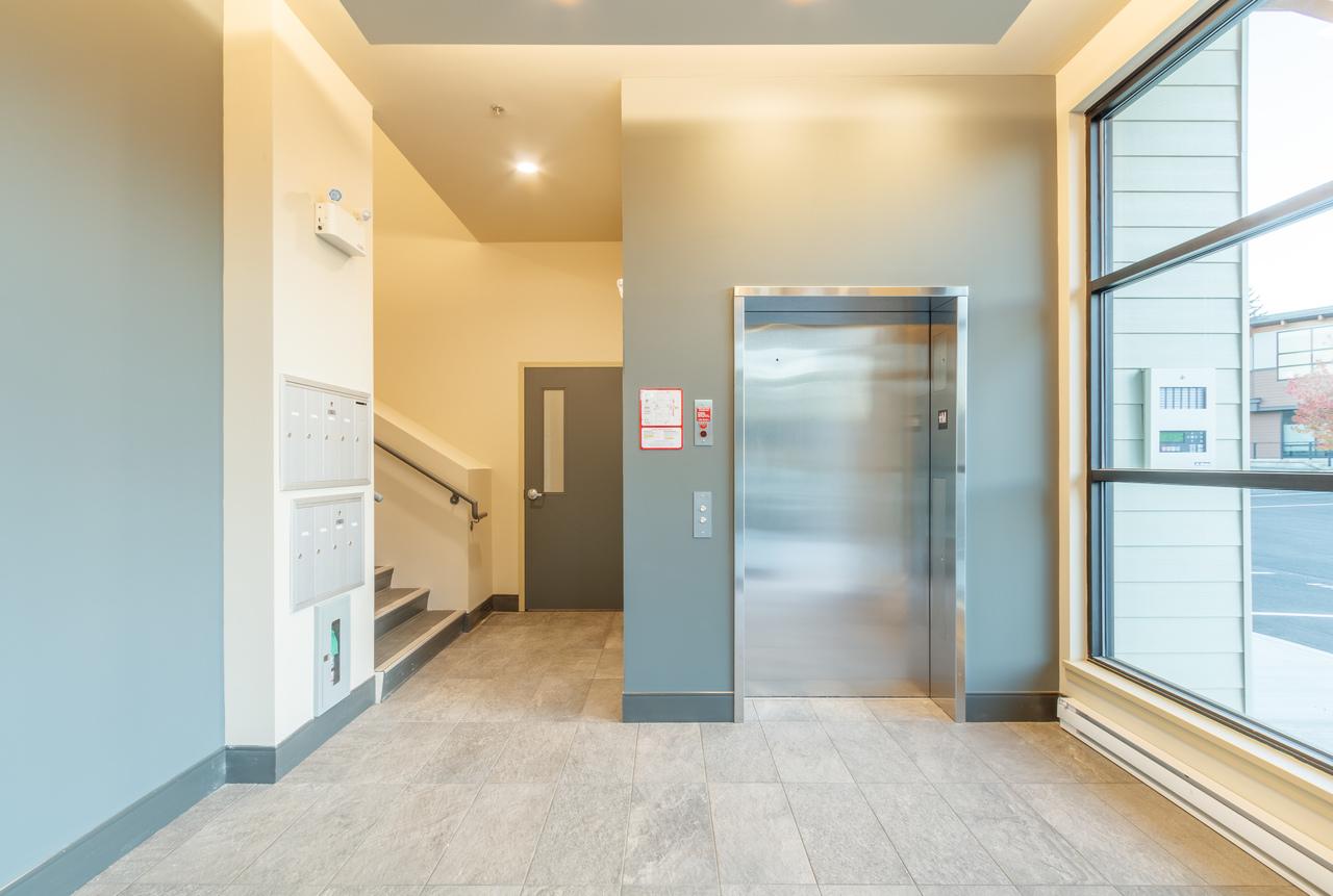 building-b-lobby2 at 202 - 5160 Dublin Way, Nanaimo