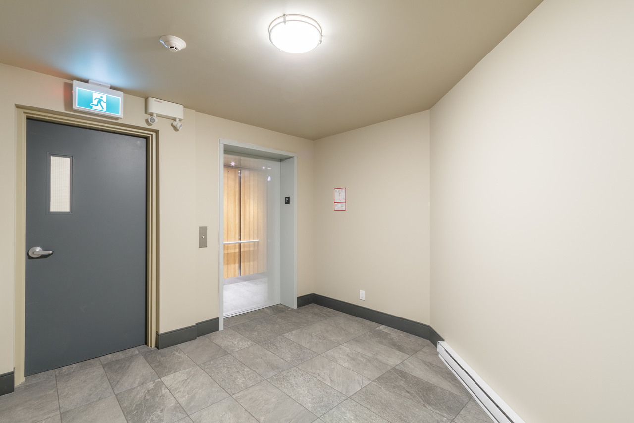 underground-parking-elevator2 at 102 - 5160 Dublin Way, Nanaimo