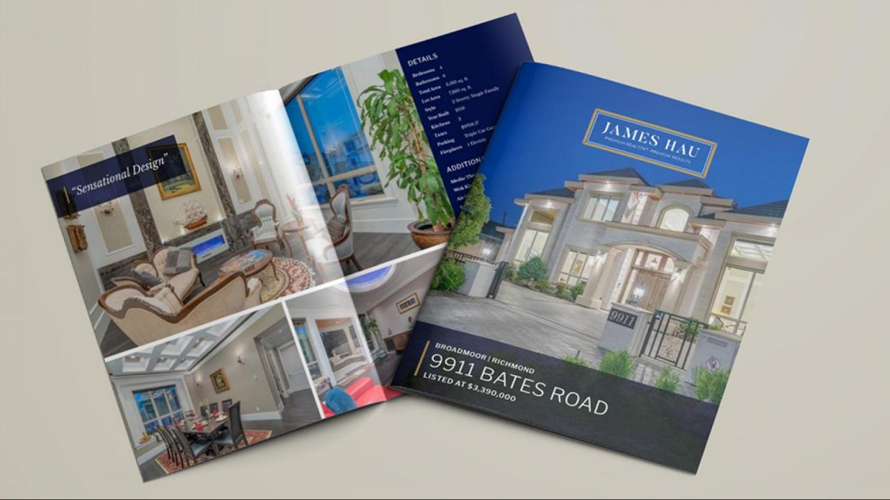 FULLY BRANDED / CUSTOMIZED PROPERTY BROCHURES