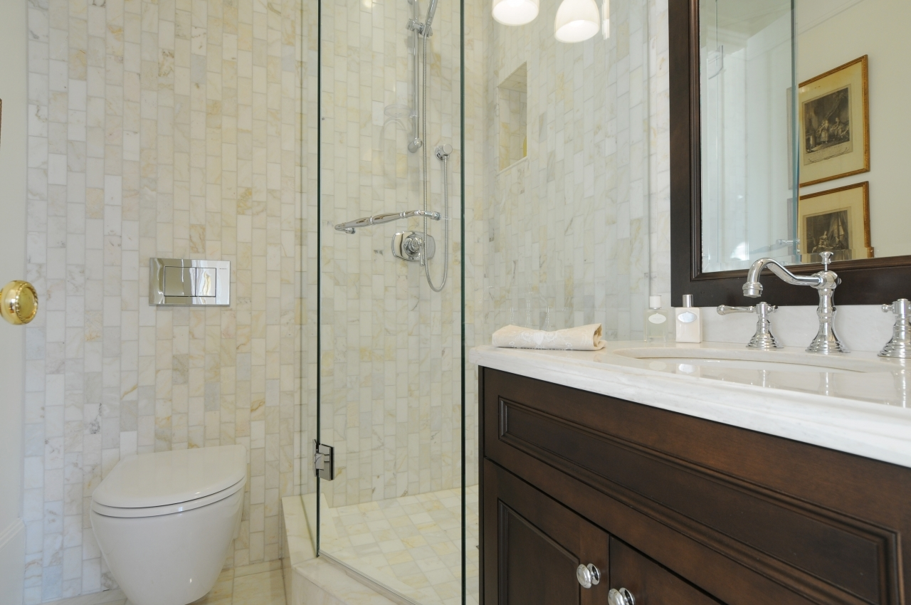 Spa like bathrooms, European design at #50 - 1386 Nicola Street, West End VW, Vancouver West