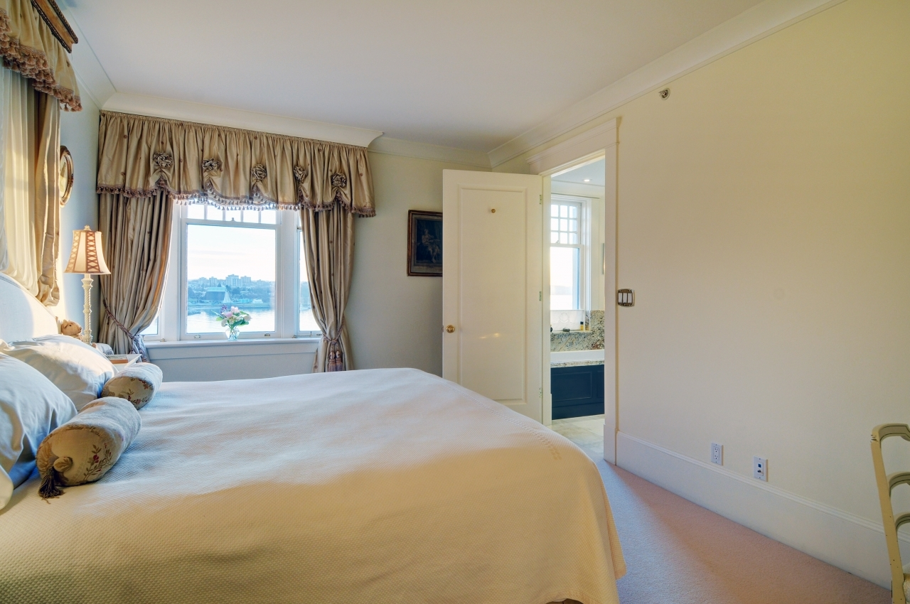 Master Bedroom, spacious with views at #50 - 1386 Nicola Street, West End VW, Vancouver West