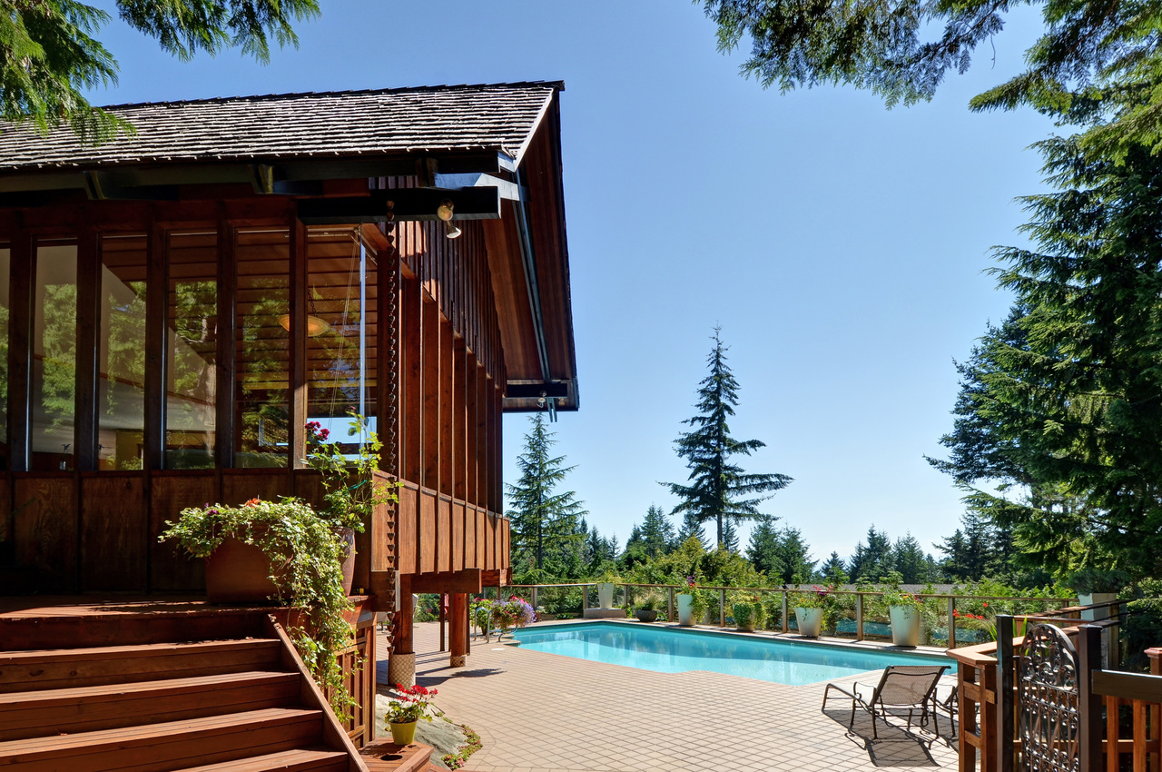Architectural gem on private oasis at 4709 Woodgreen Drive, Cypress Park Estates, West Vancouver