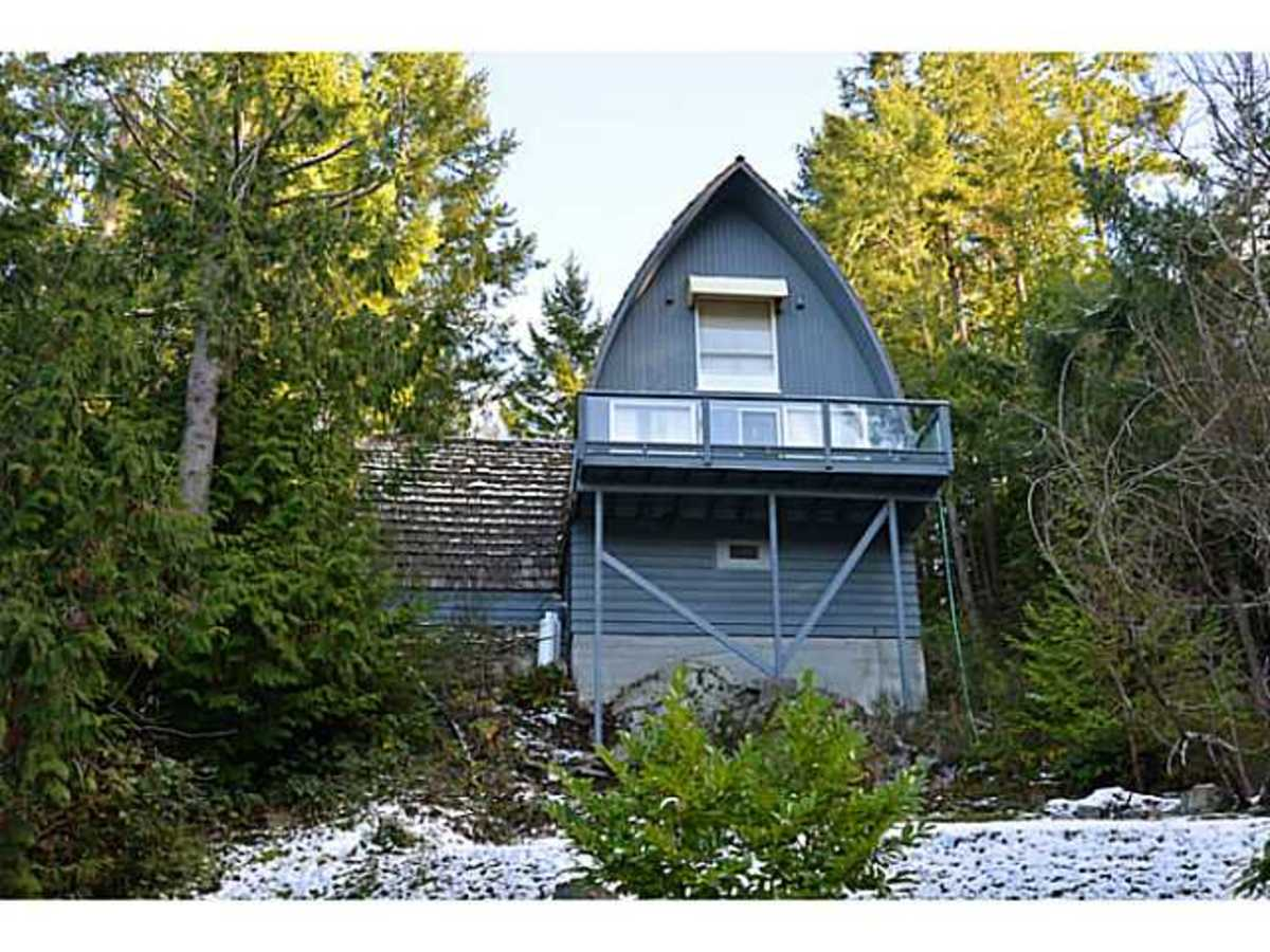 A Frame Home at 4907 Pool Road, Pender Harbour Egmont, Sunshine Coast