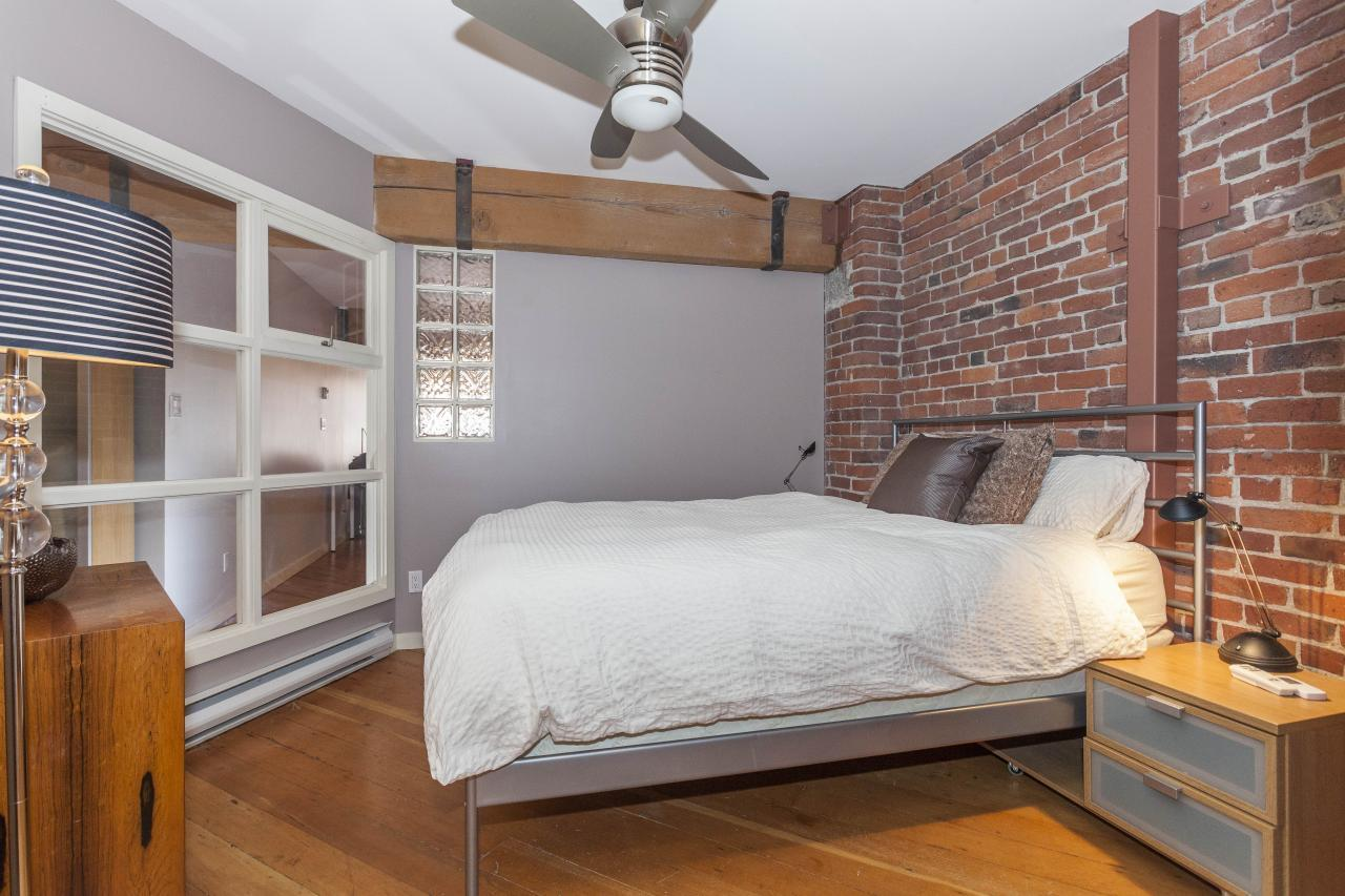 Master Bedroom at 401 - 1178 Hamilton Street, Yaletown, Vancouver West