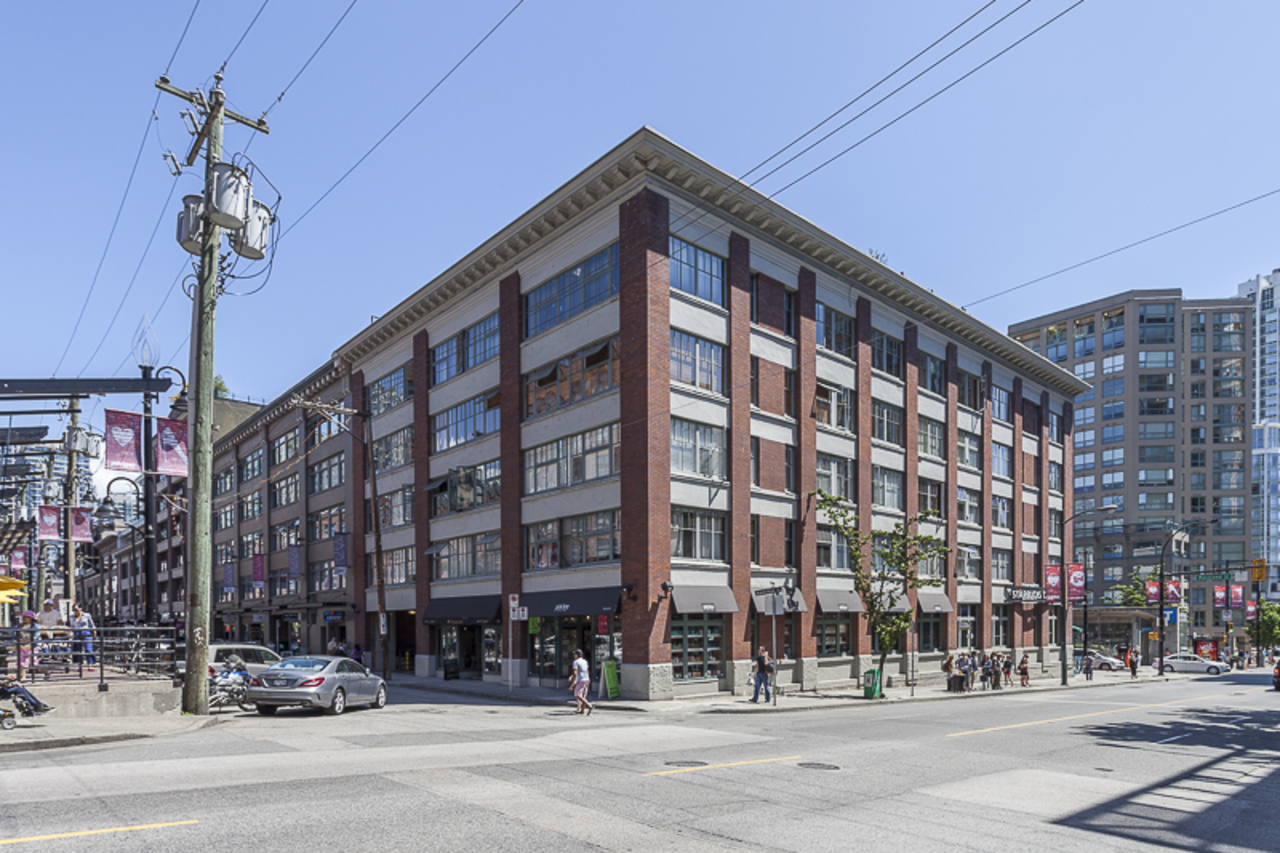 Landmark Building at 401 - 1178 Hamilton Street, Yaletown, Vancouver West