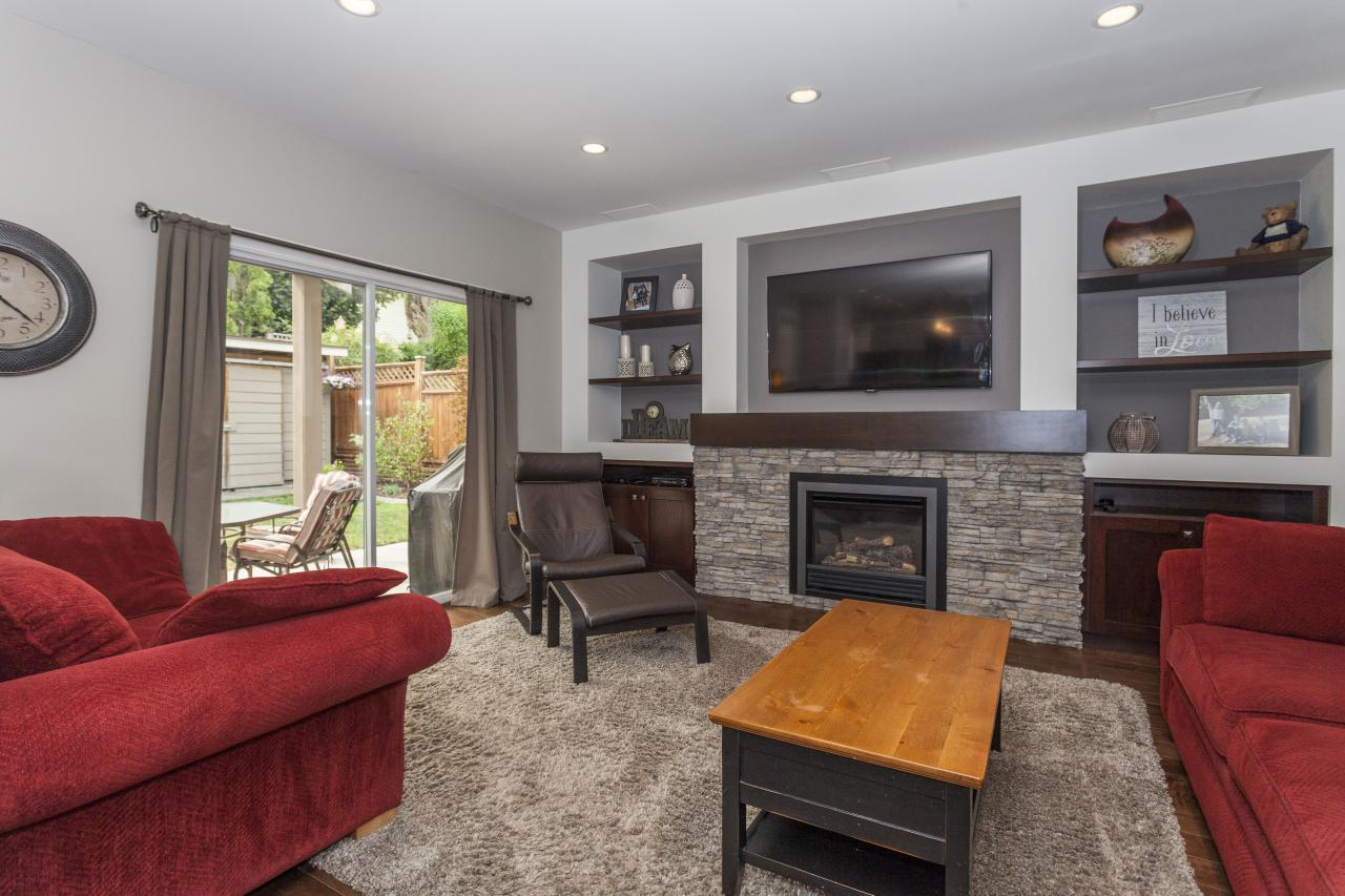 Sunken Family Room at 3961 Pimlico Place, Oxford Heights, Port Coquitlam