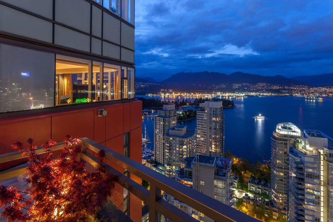 at 3801 - 1211 Melville Street, Coal Harbour, Vancouver West