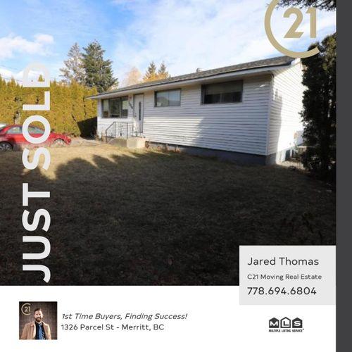 sold-parcel at 1326 Parcel Street, Merritt, South West