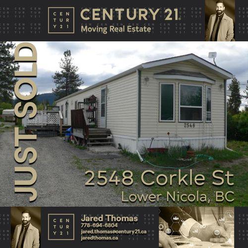 sold-corkle at 2548 Corkle Street, Merritt, South West