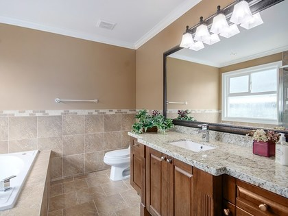 master ensuite at 4050 Joseph Place, Burke Mountain, Coquitlam