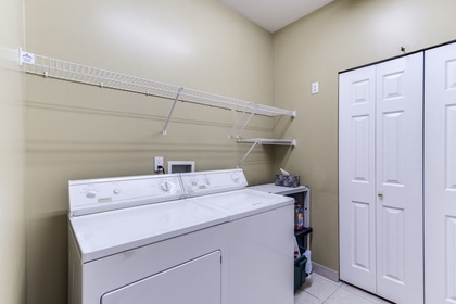Laundry room at 19 - 20770 97b Avenue, Walnut Grove, Langley