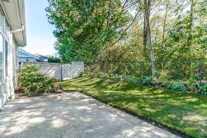Patio at 19 - 20770 97b Avenue, Walnut Grove, Langley