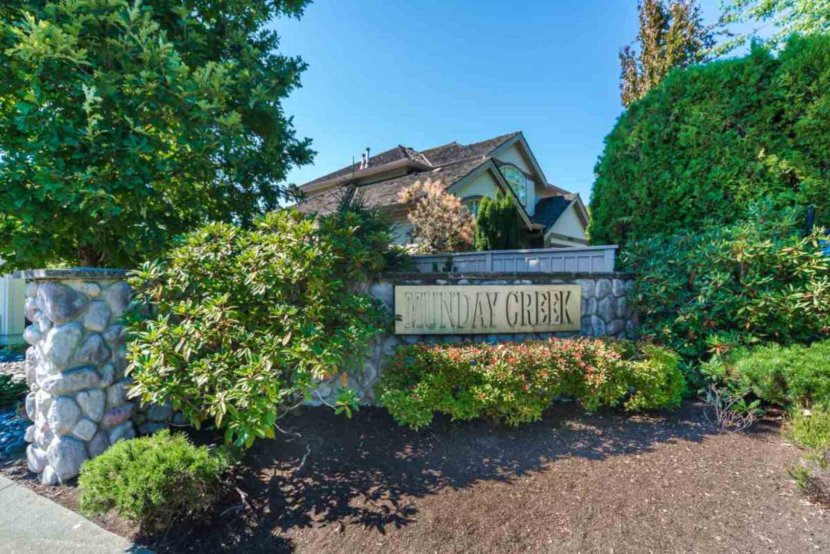 Backyard at 19 - 20770 97b Avenue, Walnut Grove, Langley