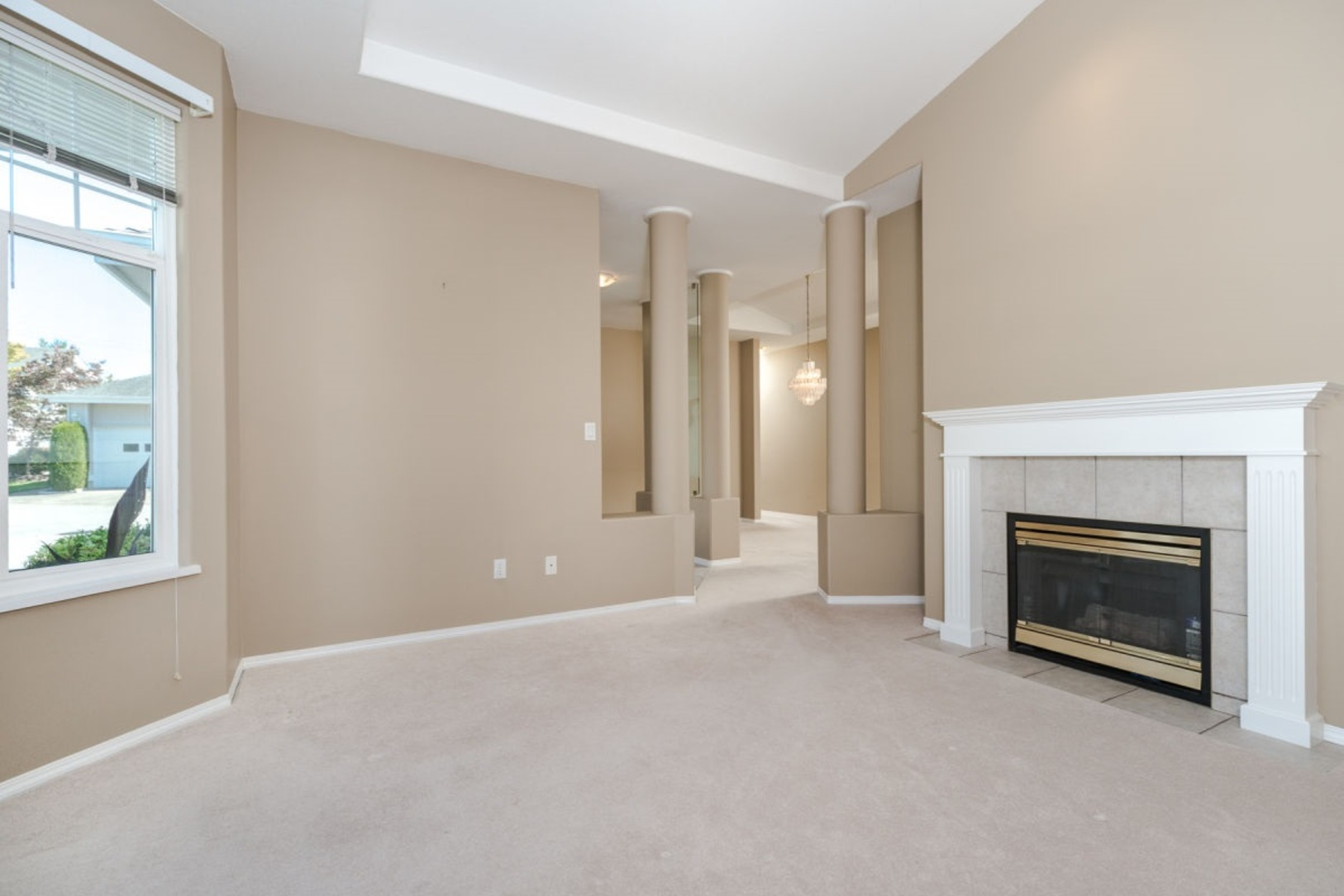 Living room at 19 - 20770 97b Avenue, Walnut Grove, Langley