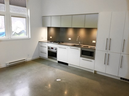 Kitchen at 207 - 150 E Cordova Street, Downtown VW, Vancouver West