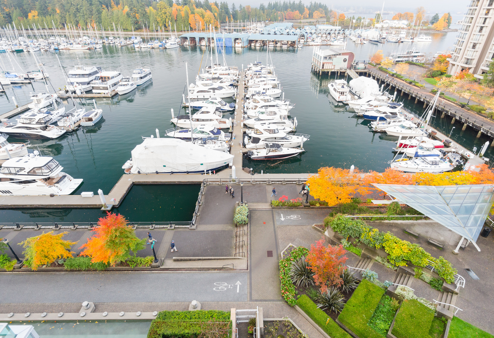 38 at PH8 - 1717 Bayshore Drive, Coal Harbour, Vancouver West