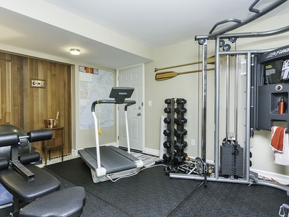 Exercise room at 3023 Maplewood Court, Westwood Plateau, Coquitlam