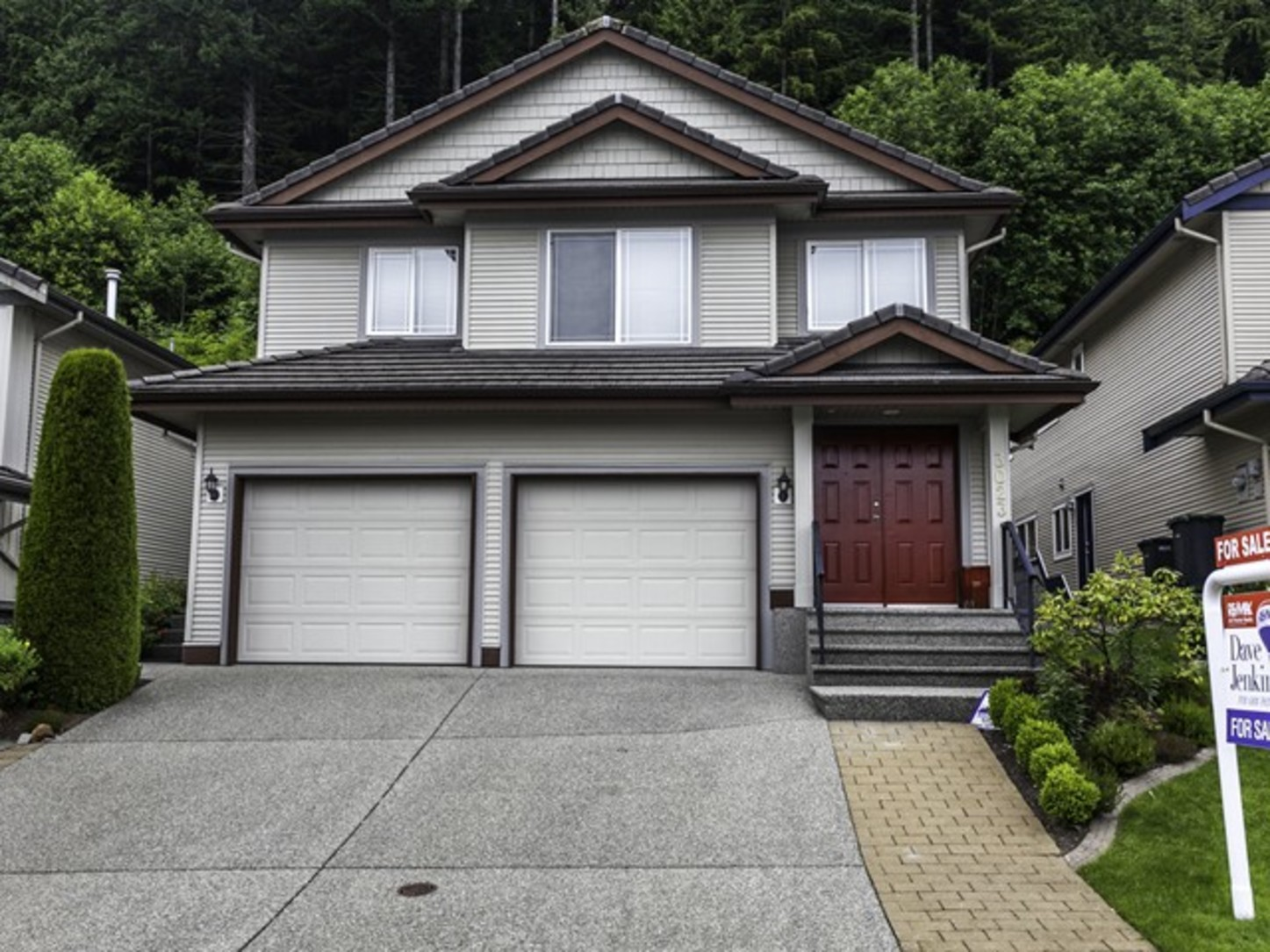 Entrance at 3023 Maplewood Court, Westwood Plateau, Coquitlam
